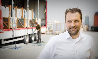 Dé Post (37) is the director of the logistics services provider H.N. Post & Zn in Pijnacker.