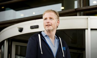 Dicky Gingnagel (48) is a parking attendant in Amsterdam.